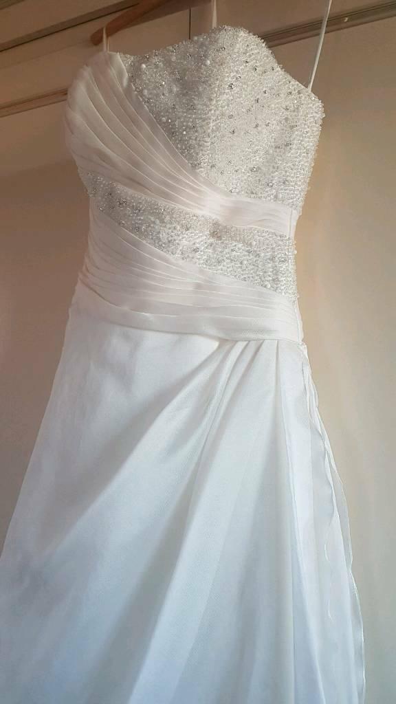 Size 8 10 Petite Wedding Dress In Derby Derbyshire Gumtree