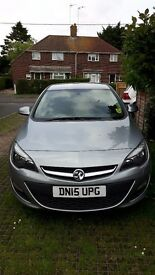 For sale Vauxhall Astra, beautiful car, good consistent runner, 2015 plate. MOT'd till 2019.