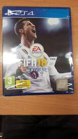 Ps4 FIFA 18 Brand New sealed