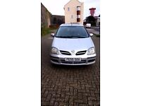 Nissan Almera Tino 1.8 Good Overall Condition But Management Light On So Spares Or Repair