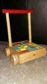 Children's brick trolley