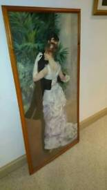 Large Wooden Glass Fronted Frame