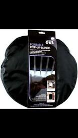 Lights out 2 pack pop up black out blinds £15