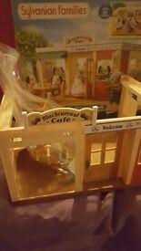 Sylvanian families cafe