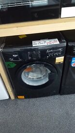 New bush washing machine 7kg black 1400rpm for sale in Coventry 12 month warrenty