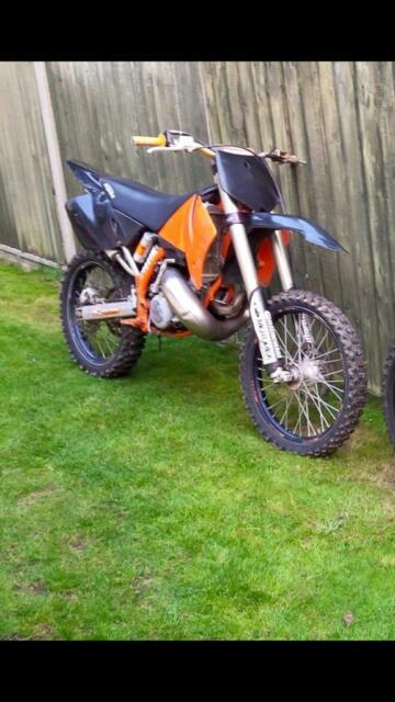 2002 KTM 300 2 stroke motocross bike | in Hertford, Hertfordshire | Gumtree