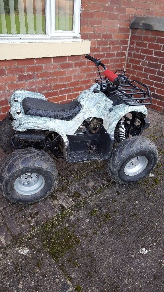 110 cc quad bike,four stroke,fully automatic,£320