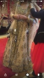 Elegant Asian wedding dress/gown