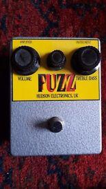 Hudson Electronics FUZZ (MKIV tonebender clone)