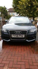 Audi A4 estate, diesel automatic low mileage