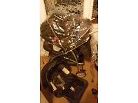Graco travel system with extra car seat