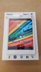 VEXIA ANDROID TABLET 16GB WIFI AND CELLULAR UNLOCKED WITH FREE CASE AND RECEIPT