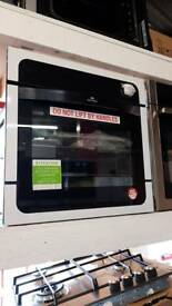 NEW WORLD NW601G Gas Oven - Black & Stainless Steel