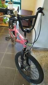 20 inch bmx x mountain bike