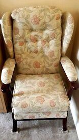 Fireside Armchair, Wingback