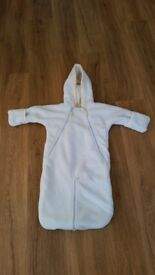 Snowsuit baby unisex 9-12 months