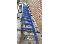 Access Stair Ladder - Mezzanine Industrial Storage