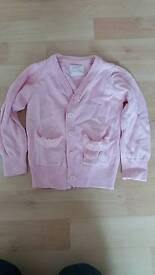 Primark pink cardigan 18-24 month
