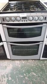 Stoves newhome double oven gas cooker