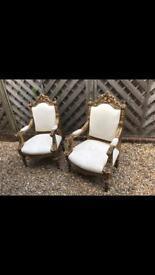 Throne chairs stunning