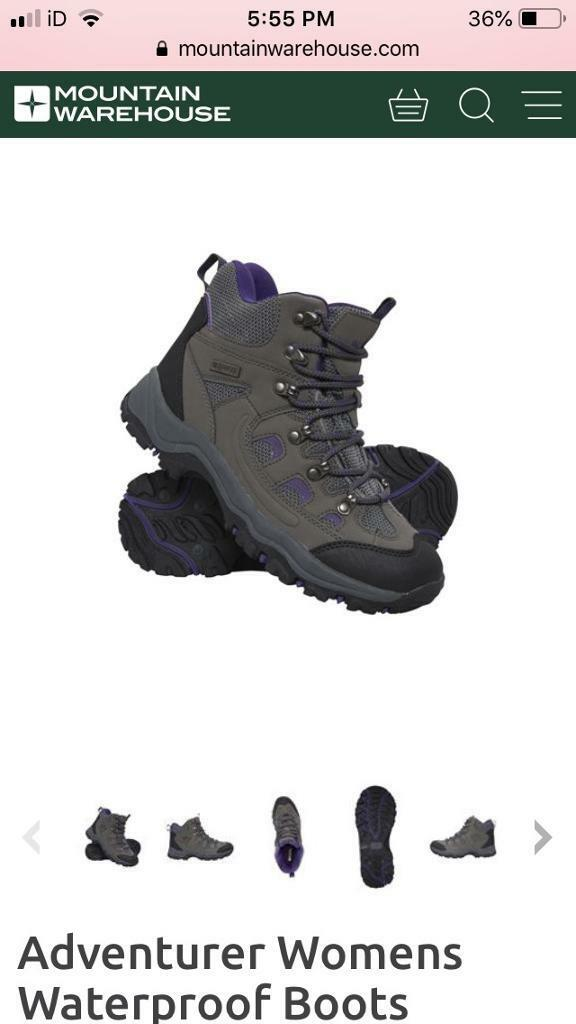 a25a1377b3c7 Women s walking boots - size 5 - grey