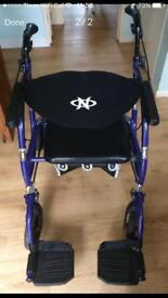 Walking aid/rollator/wheelchair