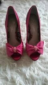 River Island, Size 5 high heeled shoes