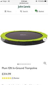 Plum 12 inch In-Ground Trampoline