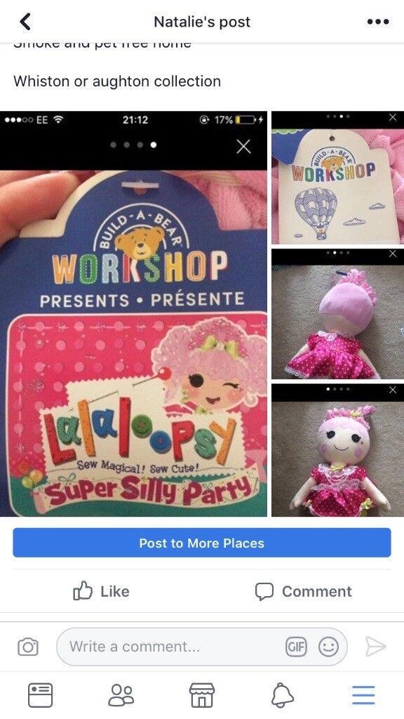 Build a bear doll