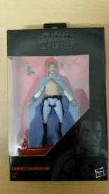 Star wars the black series lando Calrissian.