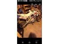 Pit bike 110 semi auto