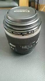 Canon 60mm lens. Needs gone asap