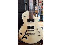 ESP LTD EC-50 White Finish Electric Guitar