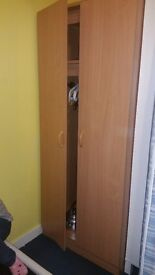 Bed frame and wardrobe. Needs to go ASAP please. Text for more info