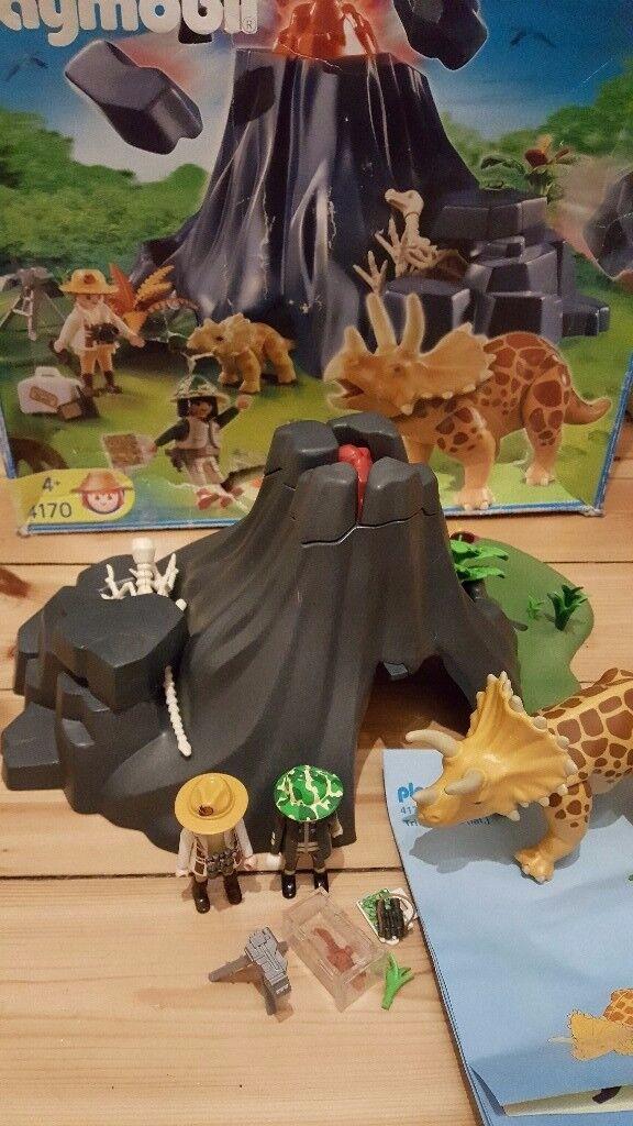 Playmobil dinosaurs bundle of 3 different sets
