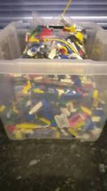 Lego bundle spairs! All used condition hole box 50 Can deliver or post!