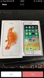 Rose Gold IPhone 6S Plus , Unlocked , 64GB, Brand New