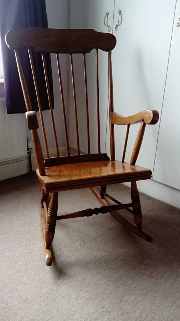 Oak Rocking Chair In Sheffield South Yorkshire Gumtree