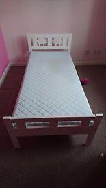 Ikea childrens bed & mattress