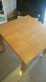 """From a smoke free home. £20 onoSmall table in good condition. 29.5"""" height x 31.5"""" wide"""