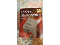 Haynes Fender Stratocaster Manual.
