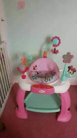 Minnie mouse girls baby bouncer