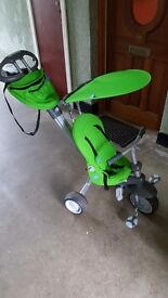 Smart-Trike 4-in-1 Recliner Tricycle (green)