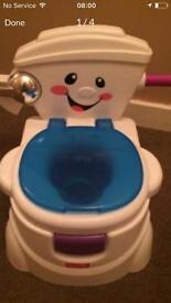 Fisher price potty /toilet