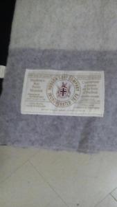 Hudson's Bay Wool Blanket Queen Size