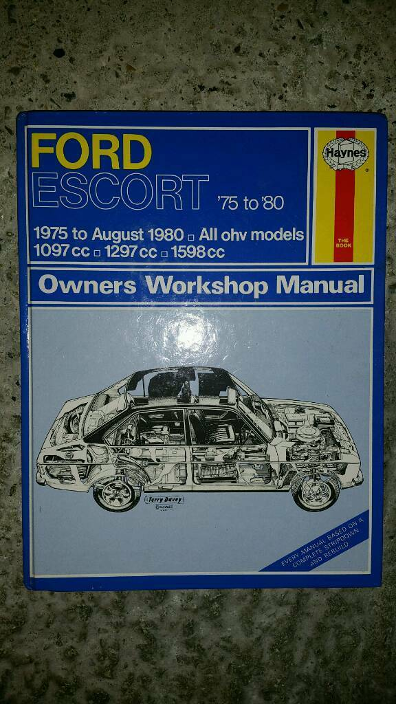 Ford Escort MK2 Haynes Manual