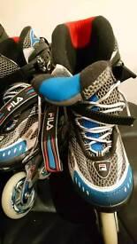 Rollerblades FILA skates size 8 UK