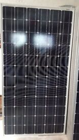 200 W Solar panel with charging kit for narrow boats, caravans ,motorhomes etc.