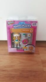 Brand New Shopkins Happy Places Puppy Patio Lil' Shoppie Pack
