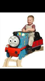 Thomas the tank engine electric ride on with full track